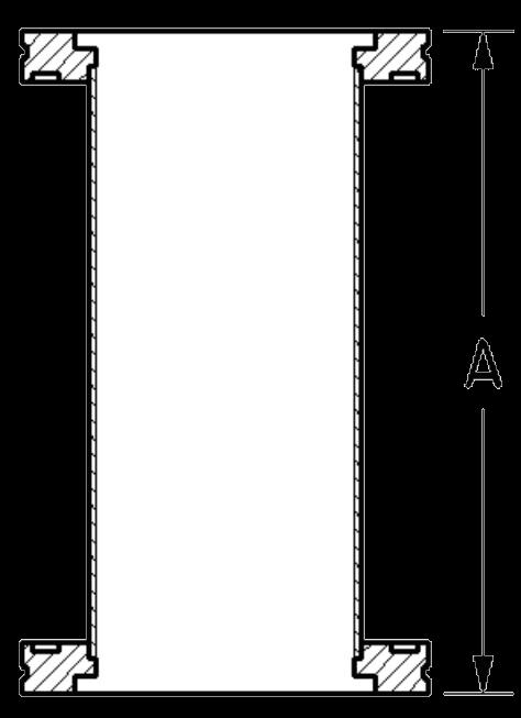 Full Nipple OAL Diagram